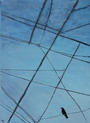 Wires One   12x16   Oil On Canvas   Jan '06   Sold