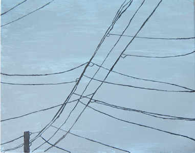 Wires Two | 16x20 | Oil On Canvas | Jan '06