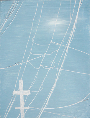Wires Six | 12x16 | Oil On Canvas | Jan '06