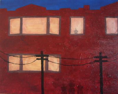Where's La La?   16x20   Oil On Canvas   Aug '06