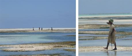 Locals on Paje Beach - Zanzibar, Tanzania