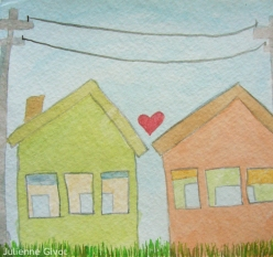 "All Objects In Love | 5.5"" x 5"" 