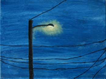 Wires Seven | 12x16 | Oil On Canvas | Feb '06