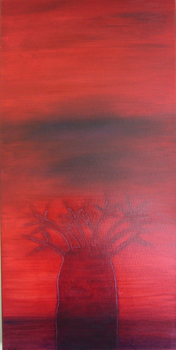 Baobab   15 x 30   oil on canvas   Nov '06   Private Collection