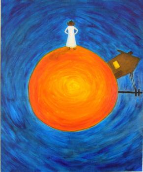Sometimes I Live On The Sun | 20 x 24 | oil on canvas | Jan '07