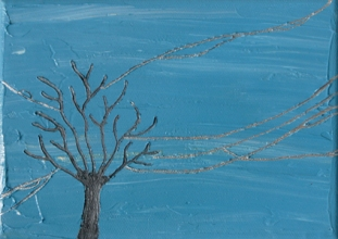 Wires Eleven   7x5   Oil On Canvas   Feb '06   SOLD
