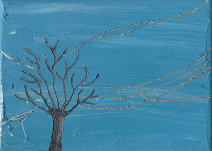Wires Eleven | 7x5 | Oil On Canvas | Feb '06 | SOLD