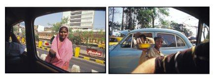 View from a Taxi - Central Kolkata, India | 2002