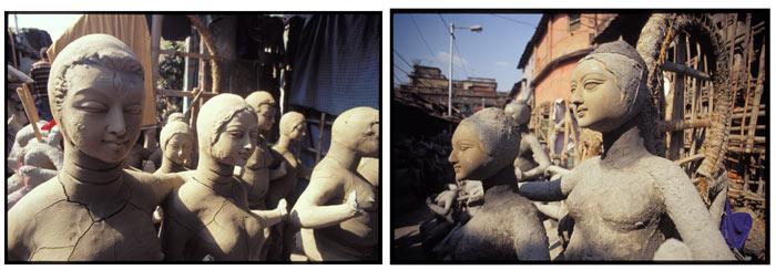 Deity Statues - Artisan Village, Kolkata, India