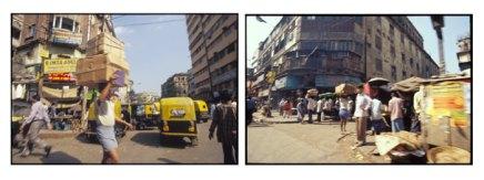 Streets - Central Kolkata, India   2002