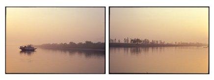 Sunrise over the Sunderbans - West Bengal, India   2002