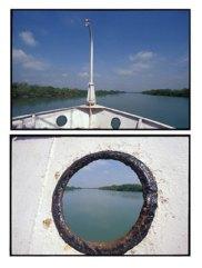 Riverboat - Bay of Bengal, West Bengal, India   2002
