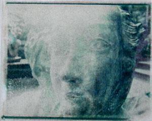 Sirens   polaroid transfer on cotton paper
