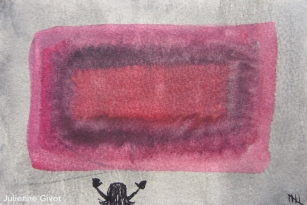 """Trying To Hug Rothko 