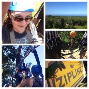 Zipline adventure in the canopy above Haiku. So much fun!