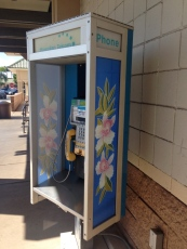 Even pay phones have the aloha spirit.
