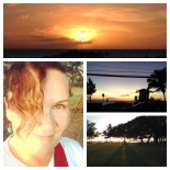 Day 2: Happy Kihei sunset!