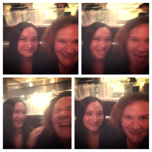 Silly good times with my friend Kim in LA.